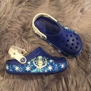 Crocs Disney Frozen Light Up Clog